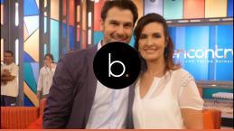 Fátima Bernardes estaria vivendo 'amor proibido' com convidado de seu programa