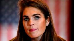 Quién es Hope Charlotte Hicks, la ex modelo contratada por Trump