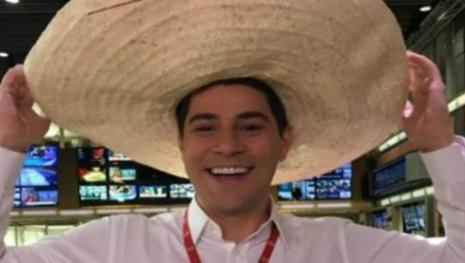 Com bronca na Globo, Evaristo Costa exibe mudança no rosto e quebra web
