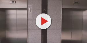 Tragédia: Mulher morre 'partida ao meio' em elevador logo após ter bebê