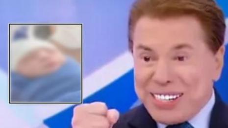 A cara do avô? Veja a foto do terceiro bisneto de Silvio Santos