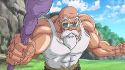Goku eliminates universe four, the sacrifice of Roshi ?