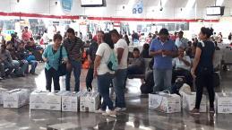 Huevo San Juan cambió la ruta, pero hizo felices a muchos mexicanos