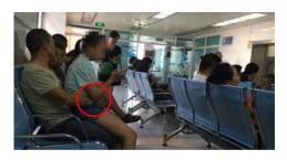 Tio é preso por estuprar sobrinha dentro de hospital em plena luz do dia