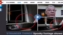 Do além: britânico grava atividade paranormal na casa onde vive