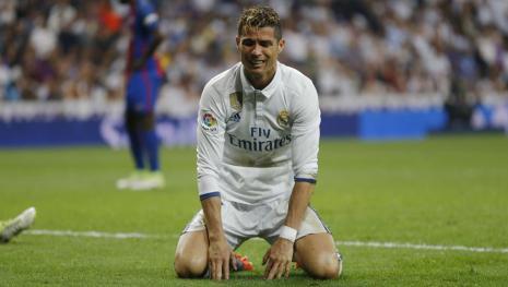 Cristiano Ronaldo vuelve a caer