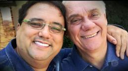 Muito magro e abatido, Marcelo Rezende cita maus momentos