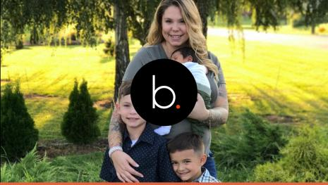 Kailyn Lowry's baby name being kept from the public as a publicity stunt?