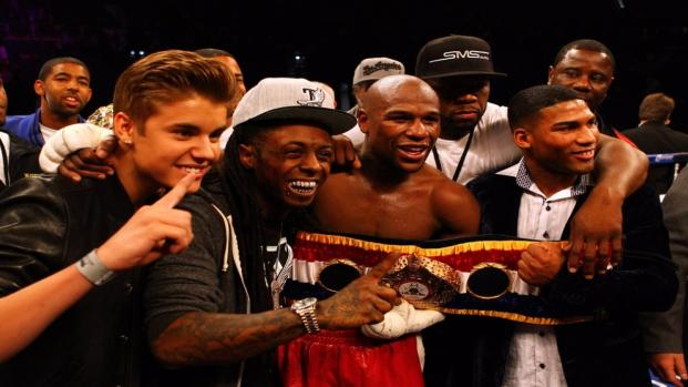 Mayweather's angry at Bieber for unfollowing him on Instagram