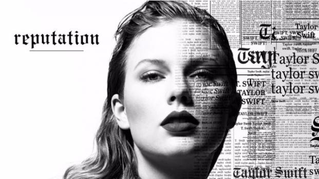 Taylor Swift's new album cover art looks like a T-shirt design
