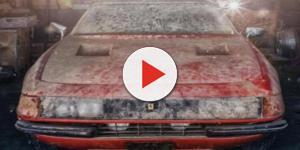 Ferrari Daytona ritrovata tra la sporcizia in Giappone: all'asta per 1,7 milioni