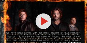 'Supernatural' Season 13: Jensen Ackles gives episode titles and spoilers