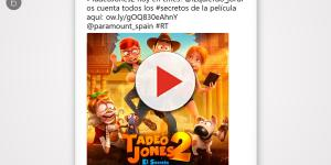 José Corbacho y Adriana Ugarte presentan 'Tadeo Jones 2' en Madrid