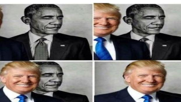 Racismo? Donald Trump compartilha montagem de eclipse com foto de Barack Obama