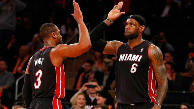 NBA 2K18: Las calificaciones de LeBron James y Dwyane Wade han sido reveladas