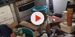 Crianças são encontradas em apartamento tomado por lixo; mãe dá versão inusitada