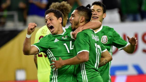 México consigue el boleto para Rusia 2018