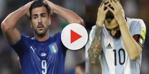 Argentina e Itália correm sério risco de ficar fora da Copa 2018