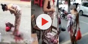 Mulher dá à luz durante as compras; veja o que ela fez depois