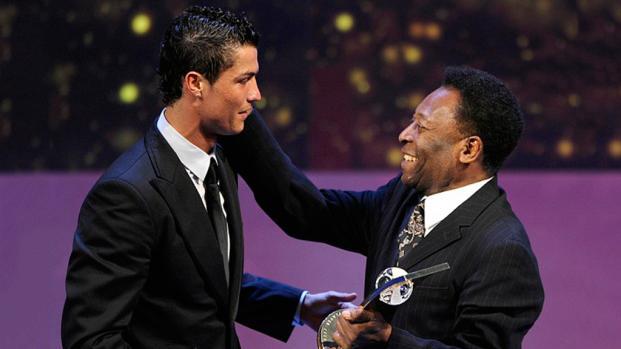 ¡El reto de Pelé que pondrá nervioso a Cristiano Ronaldo!