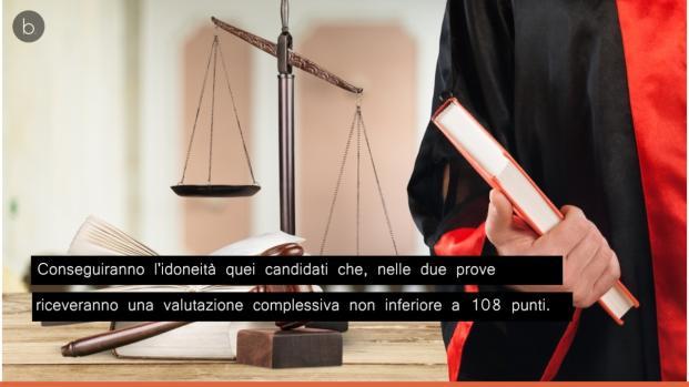 Il Ministero ha pubblicato un bando di concorso per Magistrato Ordinario.