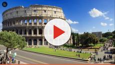 VIDEO: Roma, si arrampica sulla recinzione del Colosseo armato di tirapugni