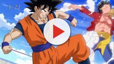 Dragon Ball Super: Sinopsis para la hora especial de Goku y Luffy