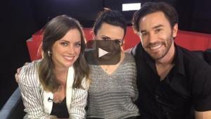 Una charla con Tom Pelphrey y Jessica Stroup de 'Iron Fist'