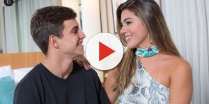 Ex-BBB Vivian termina namoro com Manoel apesar de estarem felizes