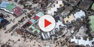 El paso del huracán Irma por el Caribe