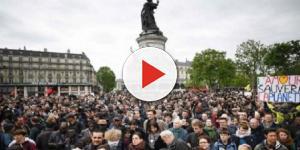 Emmanuel Macron fait face à ses premières manifestations