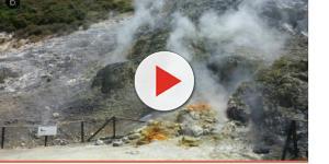 VIDEO: Tragedia a Pozzuoli, frana alla Solfatara inghiotte una famiglia