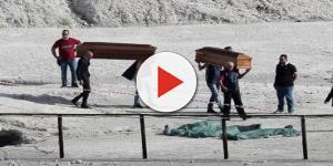 Casal italiano e seu filho de 11 anos morrem após cair em cratera de vulcão