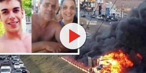 Pai, mãe e filho perdem a vida em trágico acidente em Minas Gerais;
