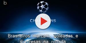 Gabriel Jesus marca e City goleia. Veja como foram os jogos de hoje da Champions