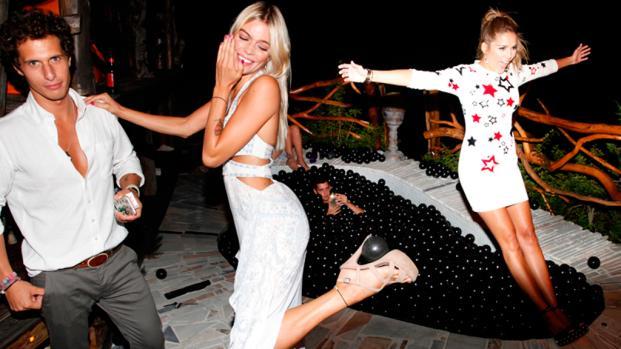 ¡Nos colamos en la fiesta privada de Emporio Armani en Ibiza!