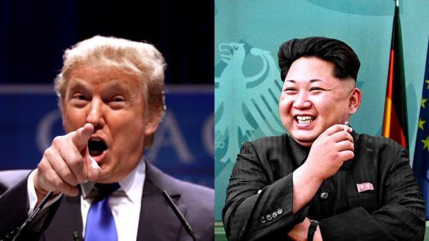 "Donald Trump mocks Kim Jong-un on Twitter and give a new nickname ""Rocket Man"""
