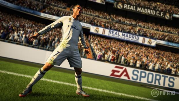 Les notes des joueurs sur FIFA 18