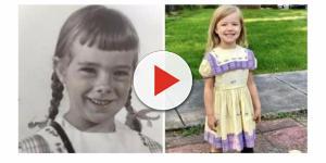 Meninas de uma família usam o mesmo vestido desde 1950. Confira