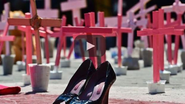 """""""Quédate en mi casa"""", la campaña para evitar feminicidios en México"""