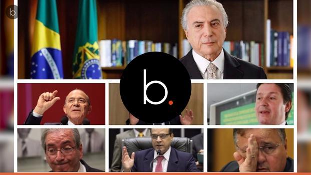 Saiba quem são os comandado por Temer no 'quadrilhão do PMDB'