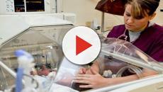 Enfermeira deixa bebê cair do carrinho e bater a cabeça no chão