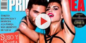 Gran Hermano: Suso y Sofía 'se desnudan' para 'Primera Línea'