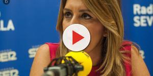 La bochornosa respuesta de Susana Díaz tras la grave escena vivida en Canal Sur