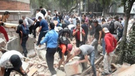 Terremoto atinge a Cidade do México e deixa dezenas de mortos;