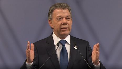 """Presidente da Colômbia diz que guerra contra as drogas """"não está sendo ganha"""""""