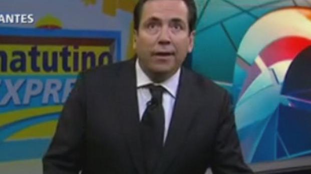 Desesperado, apresentador abandona TV e corre em meio a terremoto no México