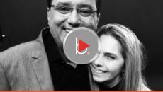 Assista: Geraldo Luis chora e tem gesto lindo com a namorada de seu amigo