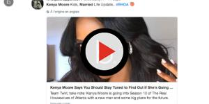 "Kenya Moore from ""RHOA""is she's really married?"