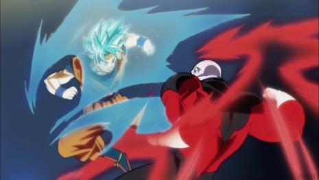 'Dragon Ball Super' prueba de la fuerza de Jiren y Goku se sorprende